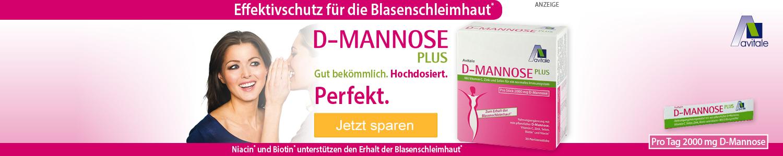Jetzt D-Mannose günstig online kaufen!