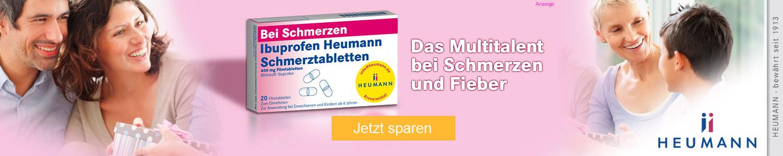 Jetzt Ibuprofen günstig online kaufen!