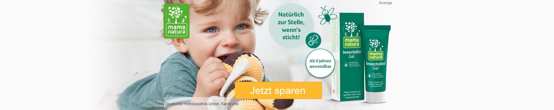Jetzt Mama Natura Insectolin Gel günstig online kaufen!
