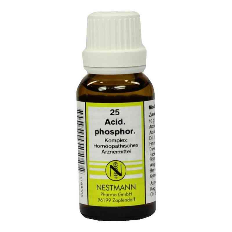 Acidum Phosphoricum Komplex Nummer  25 Dilution  bei juvalis.de bestellen