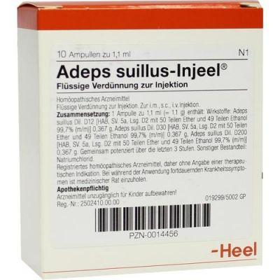 Adeps Suillus Injeel Ampullen  bei juvalis.de bestellen