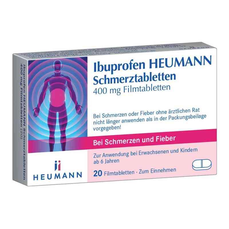 Ibuprofen Heumann Schmerztabletten 400mg  bei juvalis.de bestellen