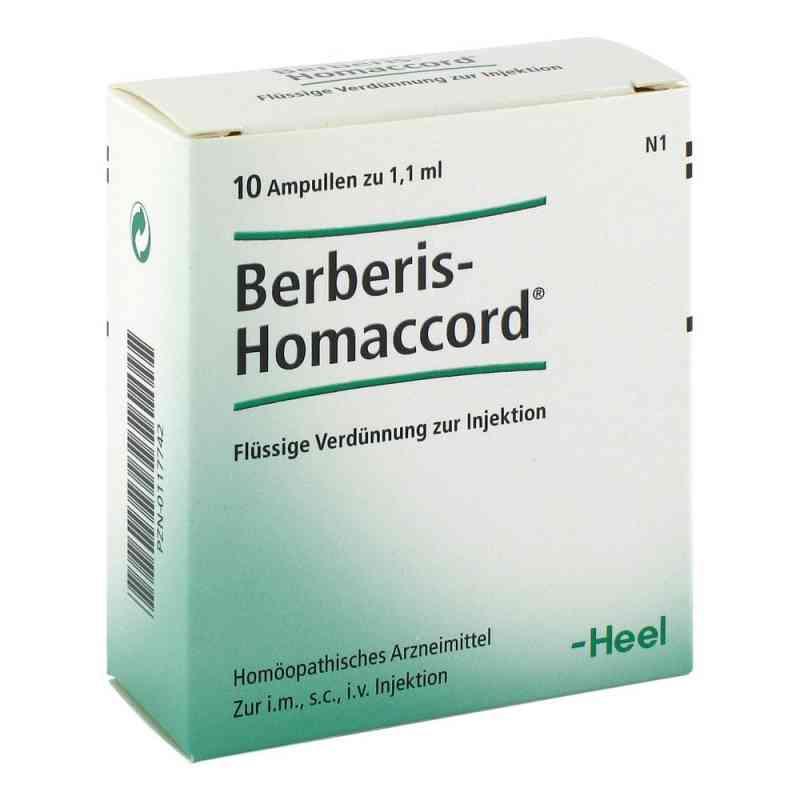 Berberis Homaccord Ampullen  bei juvalis.de bestellen