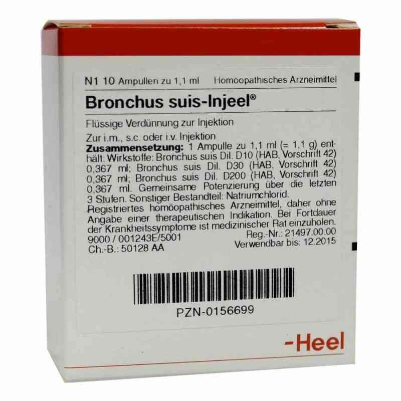 Bronchus suis Injeel Ampullen  bei juvalis.de bestellen