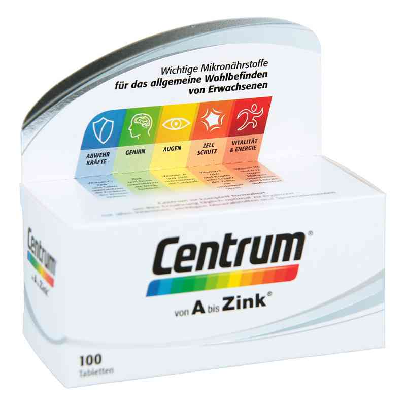 Centrum A-zink+floraglo Lutein Caplette  bei juvalis.de bestellen