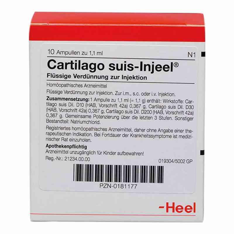 Cartilago suis Injeel forte Ampullen  bei juvalis.de bestellen