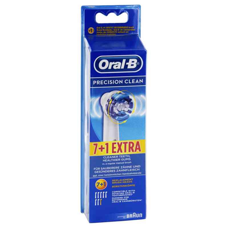 Oral B Aufsteckbürsten Precision Clean 7er+1  bei juvalis.de bestellen