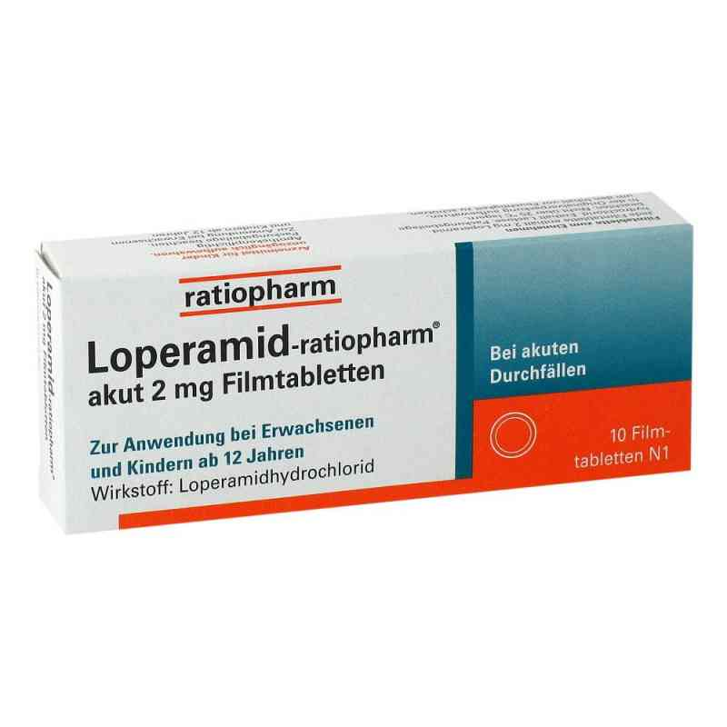 Loperamid-ratiopharm akut 2mg  bei juvalis.de bestellen
