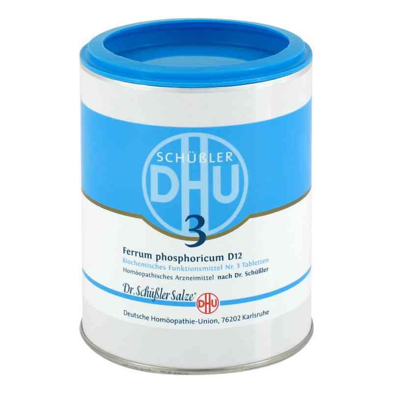 Biochemie Dhu 3 Ferrum phosphorus D  12 Tabletten  bei juvalis.de bestellen