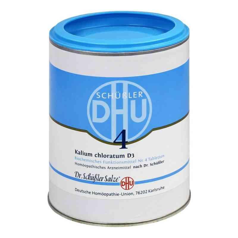Biochemie Dhu 4 Kalium chlorat. D3 Tabletten  bei juvalis.de bestellen