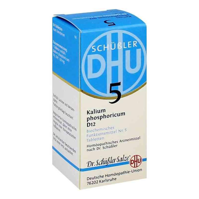 Biochemie Dhu 5 Kalium phosphorus D  12 Tabletten  bei juvalis.de bestellen