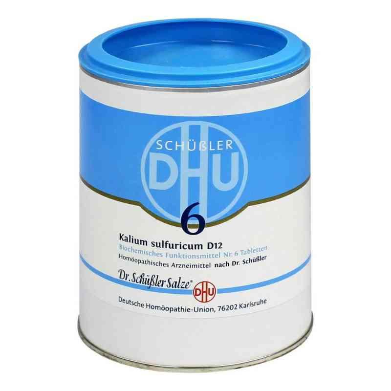 Biochemie Dhu 6 Kalium Sulfur D12 Tabletten  bei juvalis.de bestellen