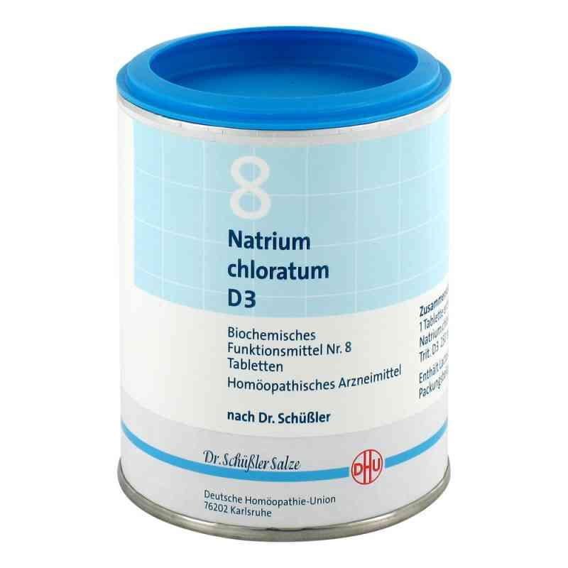 Biochemie Dhu 8 Natrium chlor. D 3 Tabletten  bei juvalis.de bestellen