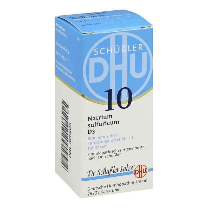 Biochemie Dhu 10 Natrium Sulfur D  3 Tabletten  bei juvalis.de bestellen