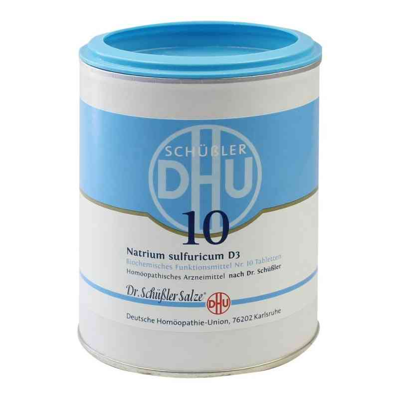 Biochemie Dhu 10 Natrium Sulfur D3 Tabletten  bei juvalis.de bestellen