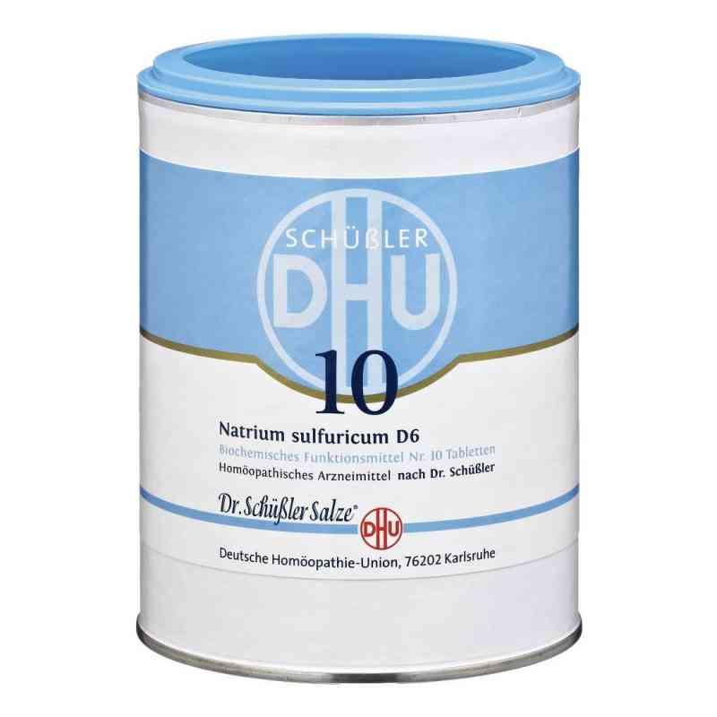 Biochemie Dhu 10 Natrium Sulfur D  6 Tabletten  bei juvalis.de bestellen