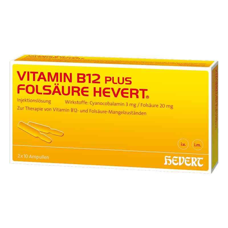 Vitamin B12 Folsäure Hevert Ampullen -paare  bei juvalis.de bestellen