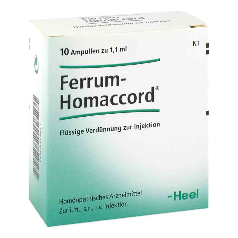Ferrum Homaccord Ampullen  bei juvalis.de bestellen