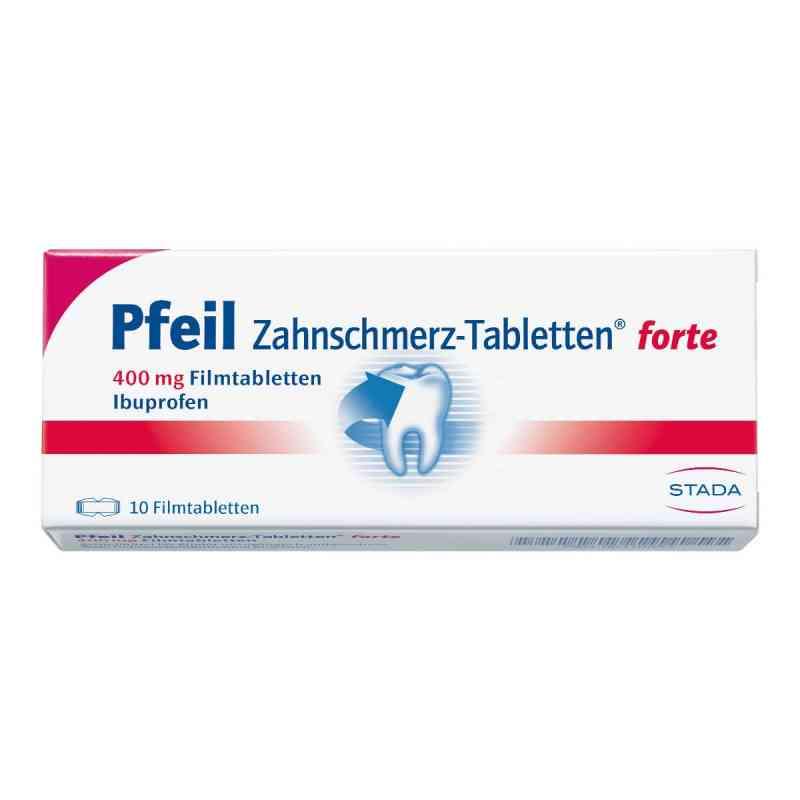 Pfeil Zahnschmerz-Tabletten forte 400mg  bei juvalis.de bestellen