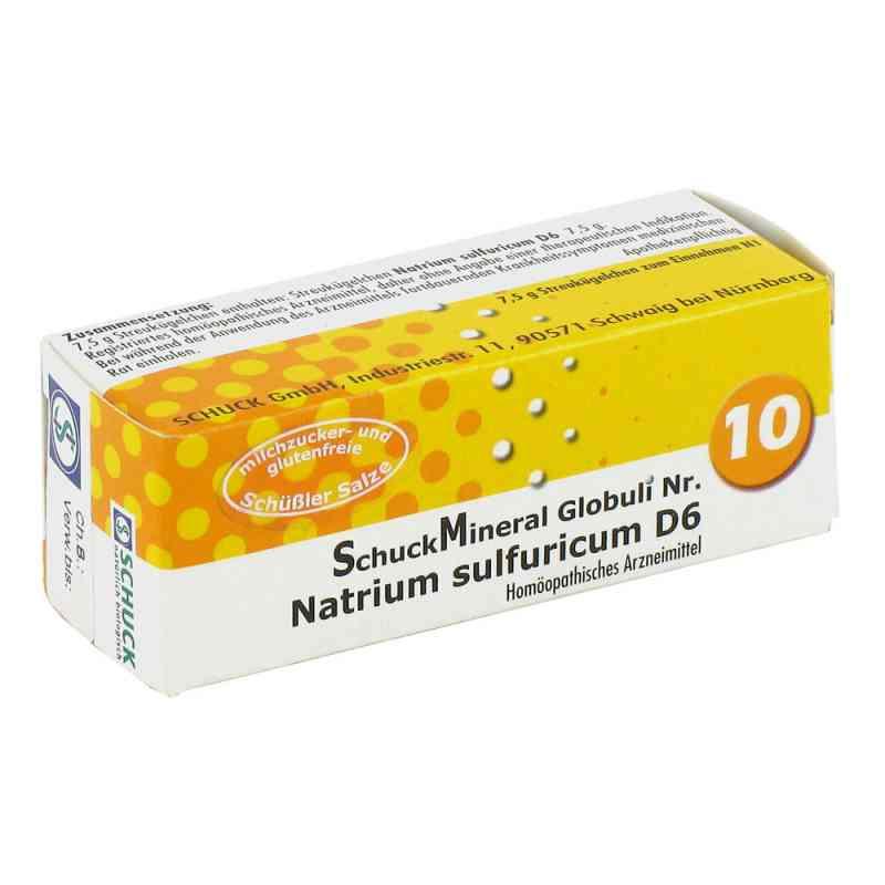 Schuckmineral Globuli 10 Natrium sulfuricum D6  bei juvalis.de bestellen