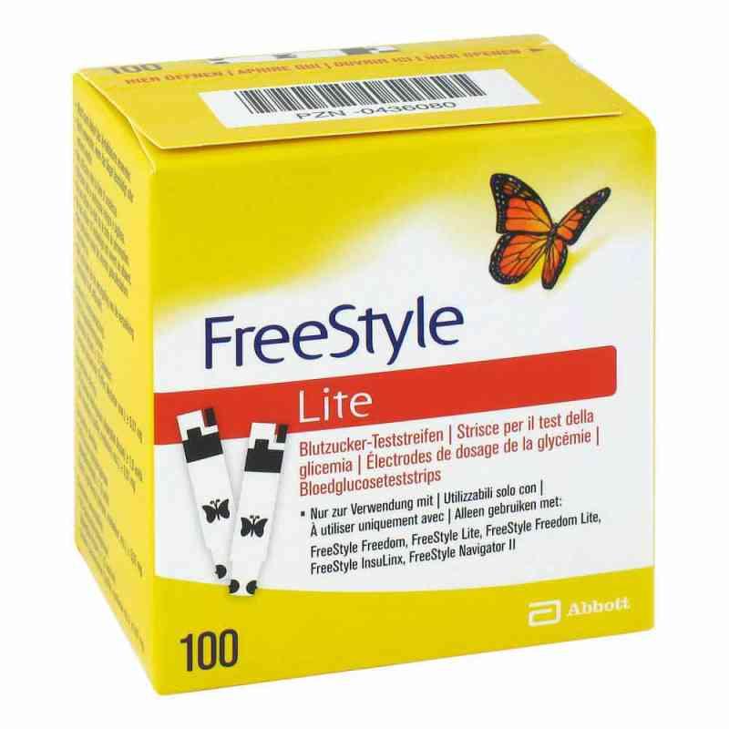 Freestyle Lite Teststreifen ohne Codieren  bei juvalis.de bestellen