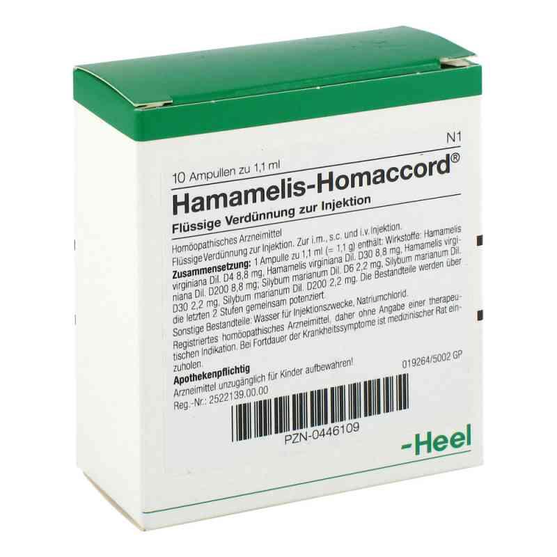 Hamamelis Homaccord Ampullen  bei juvalis.de bestellen