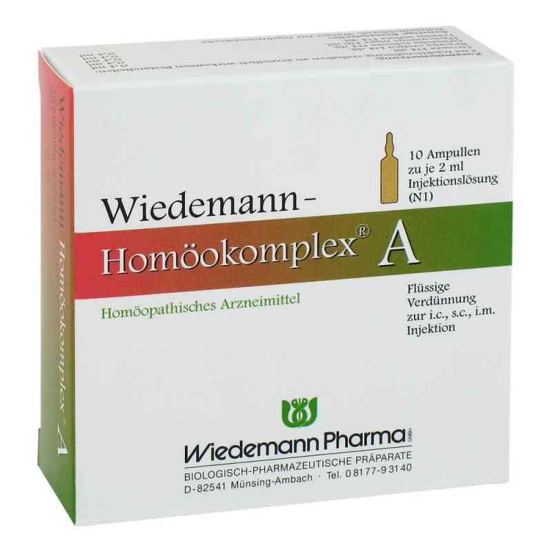 Wiedemann Homöokomplex A Ampullen  bei juvalis.de bestellen