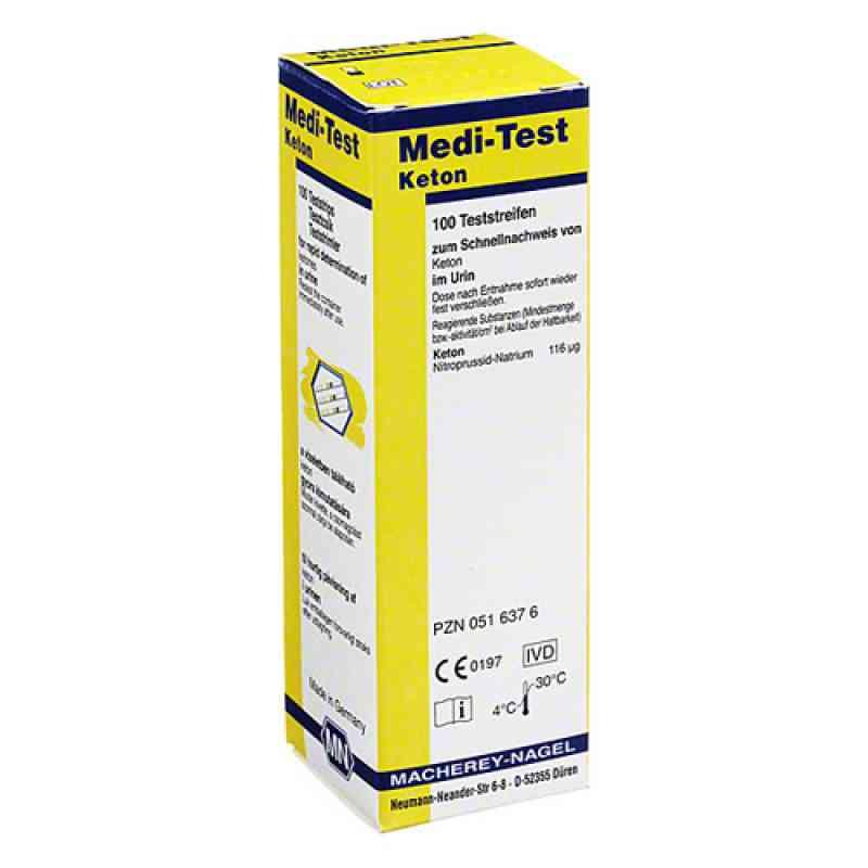 Medi Test Keton Teststreifen  bei juvalis.de bestellen