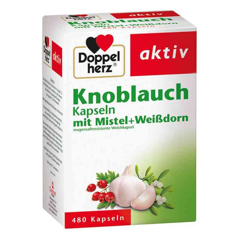 Doppelherz aktiv Knoblauch mit Mistel+Weißdorn  bei juvalis.de bestellen