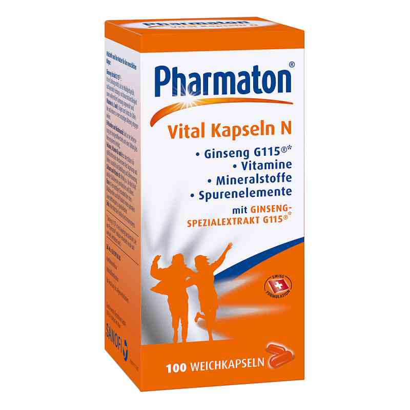 Pharmaton Vital Kapseln N  bei juvalis.de bestellen