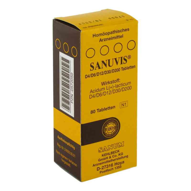 Sanuvis Tabletten  bei juvalis.de bestellen