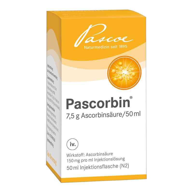 Pascorbin 7,5 g Ascorbinsäure/50ml iniecto -lösung  bei juvalis.de bestellen