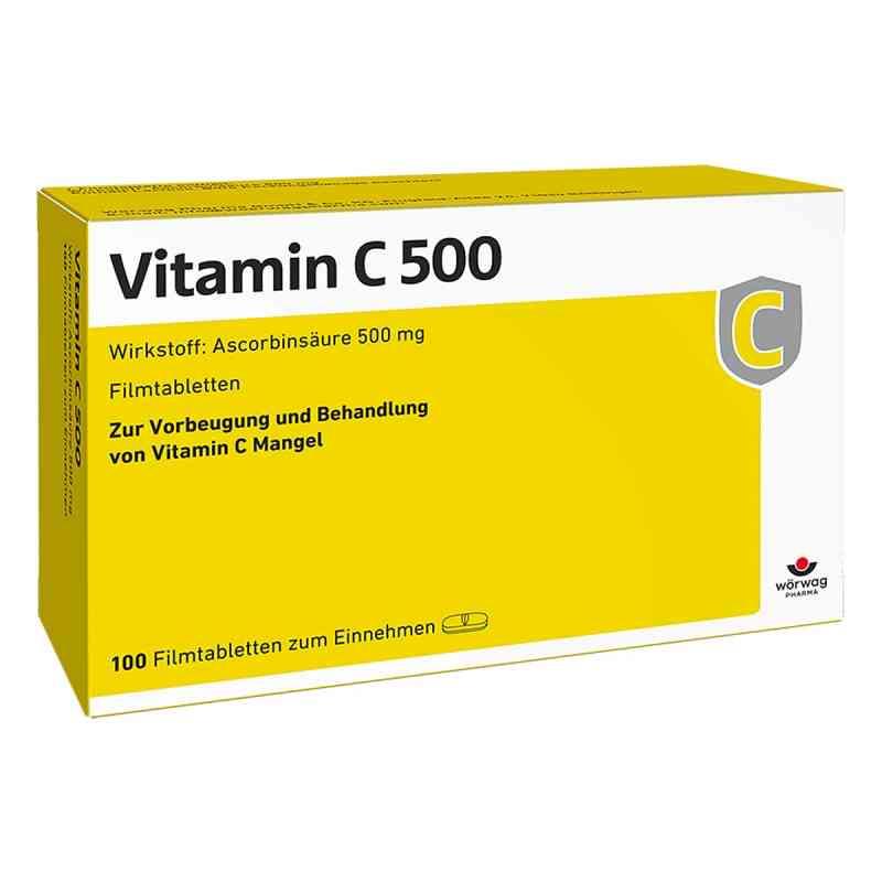 Vitamin C 500 Filmtabletten  bei juvalis.de bestellen