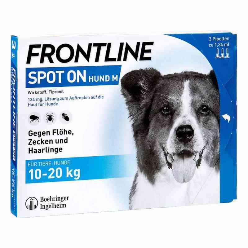 Frontline Spot on Hund 20 veterinär Lösung gegen Floh und Zecke  bei juvalis.de bestellen