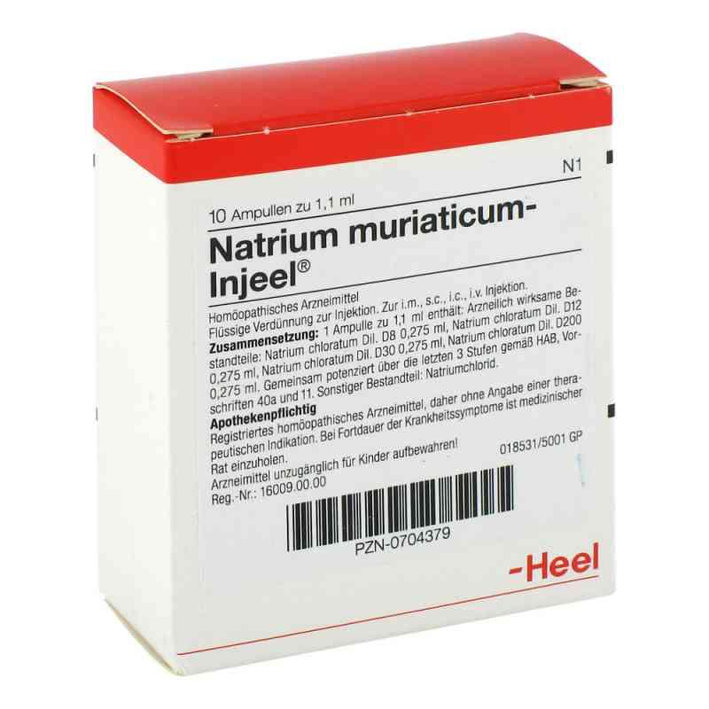 Natrium Muriaticum Injeel Ampullen  bei juvalis.de bestellen