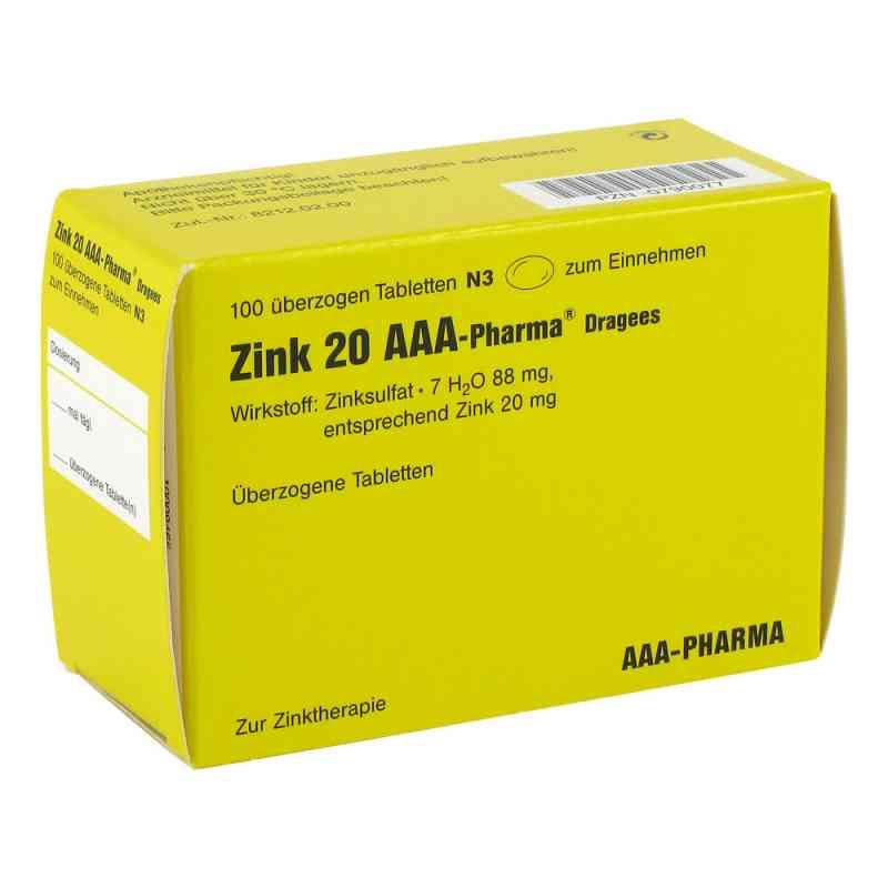 Zink 20 AAA-Pharma  bei juvalis.de bestellen