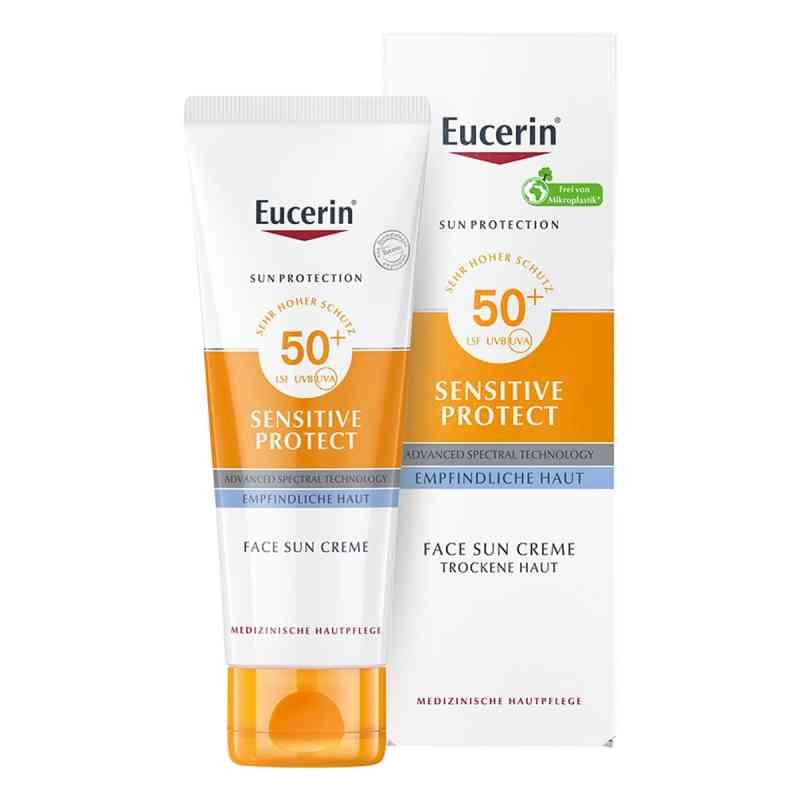 Eucerin Sun Sensitive Protect Face Creme LSF 50+  bei juvalis.de bestellen