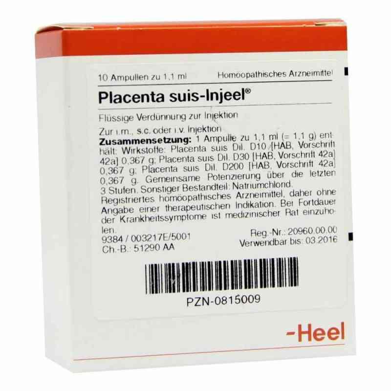 Placenta Suis Injeel Ampullen  bei juvalis.de bestellen