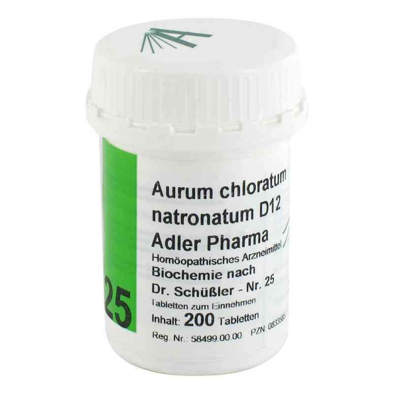 Biochemie Adler 25 Aurum chlor.natr.D12 Tabletten  bei juvalis.de bestellen