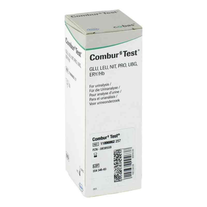 Combur 6 Test Teststreifen  bei juvalis.de bestellen