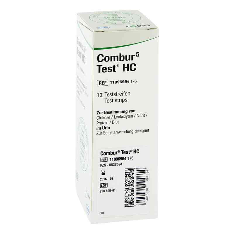 Combur 5 Test Hc Teststreifen  bei juvalis.de bestellen