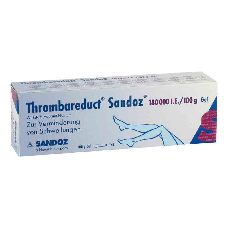 Thrombareduct Sandoz 180000 I.E./100g Gel  bei juvalis.de bestellen