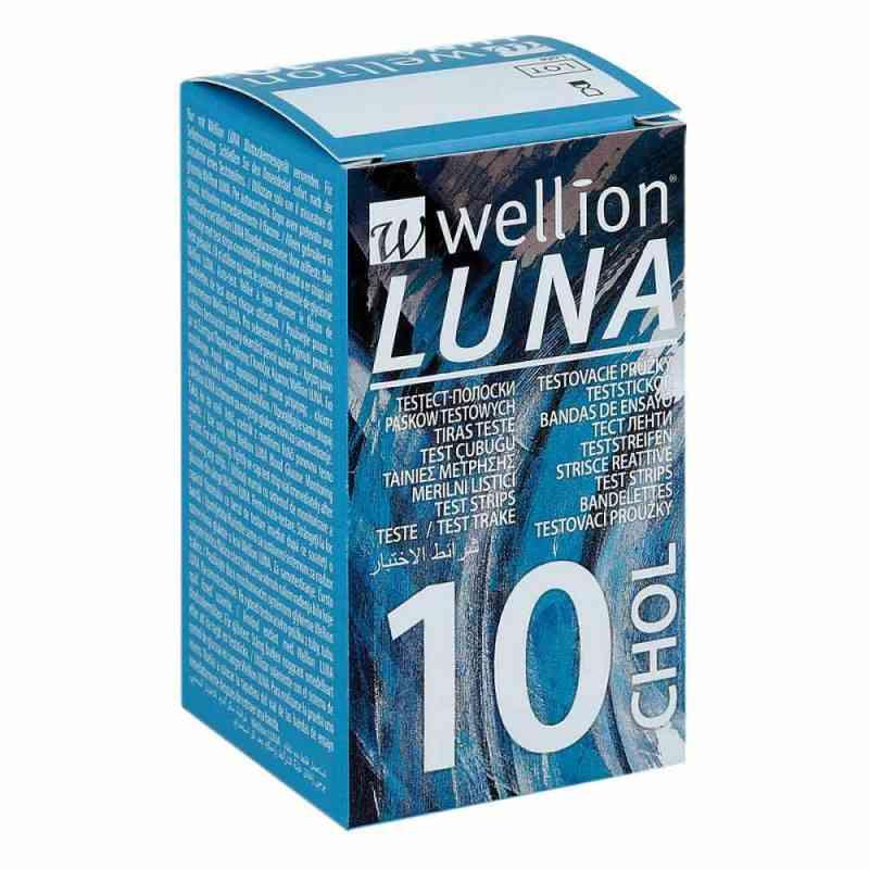 Wellion Luna Cholesterinteststreifen  bei juvalis.de bestellen
