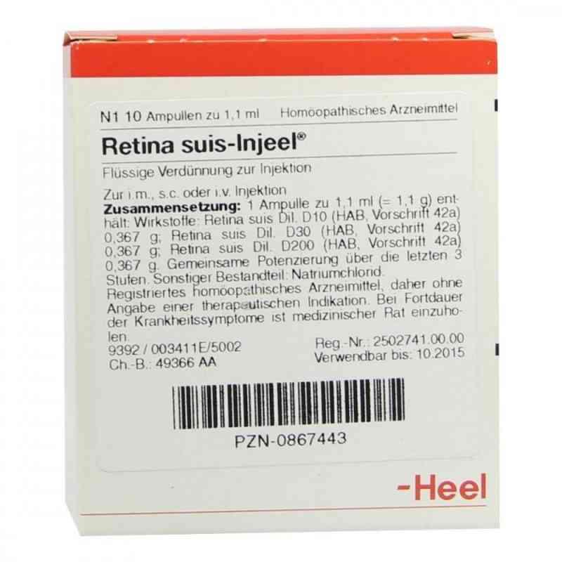 Retina Suis Injeel Ampullen  bei juvalis.de bestellen