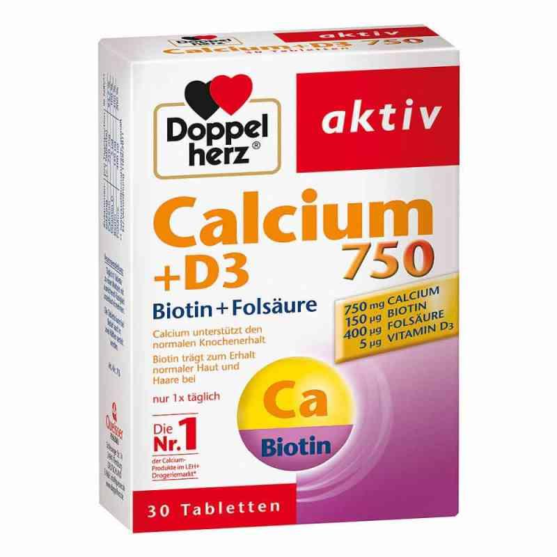 Doppelherz Calcium 750 + D3 + Biotin Tabletten  bei juvalis.de bestellen