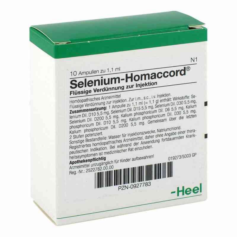 Selenium Homaccord Ampullen  bei juvalis.de bestellen