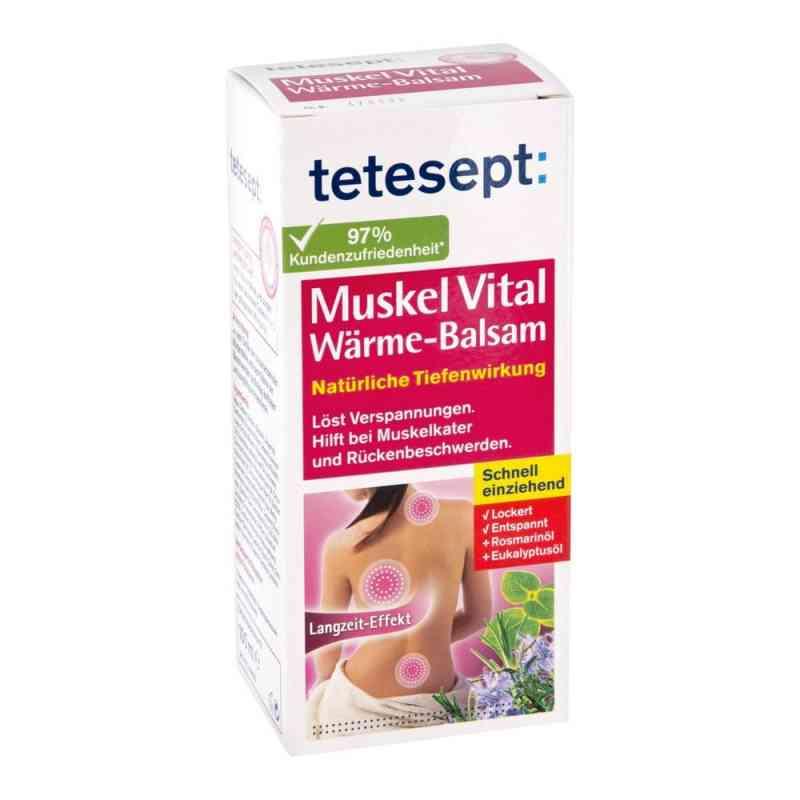 Tetesept Muskel Vital Wärme Balsam  bei juvalis.de bestellen
