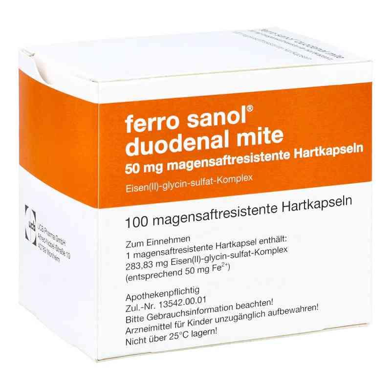 Ferro sanol duodenal mite 50mg  bei juvalis.de bestellen