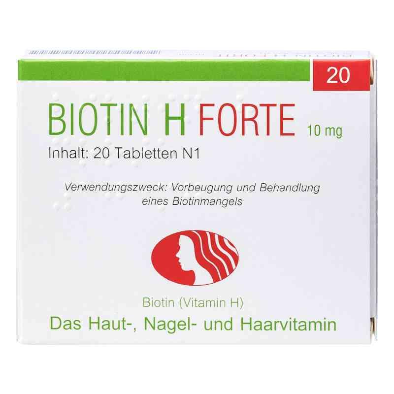Biotin H forte Tabletten  bei juvalis.de bestellen