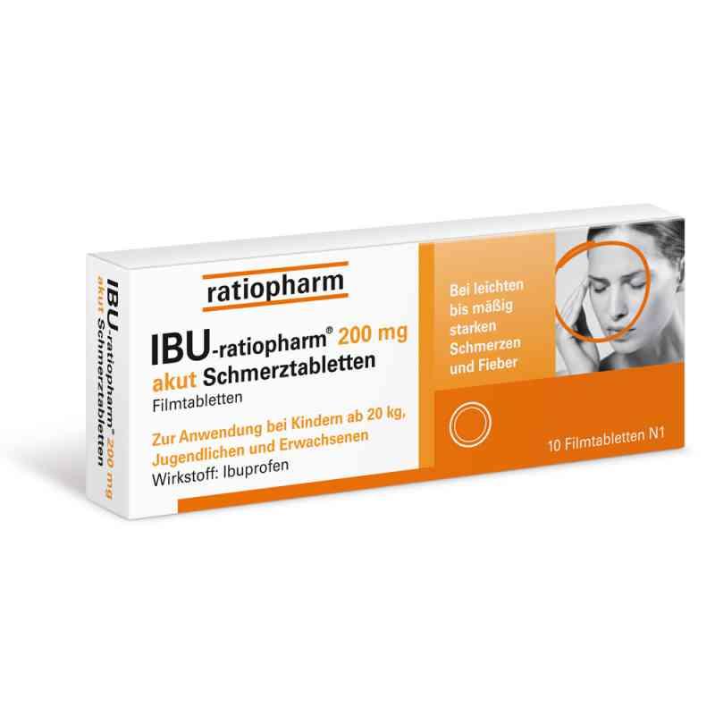IBU-ratiopharm 200 akut Schmerztabletten  bei juvalis.de bestellen